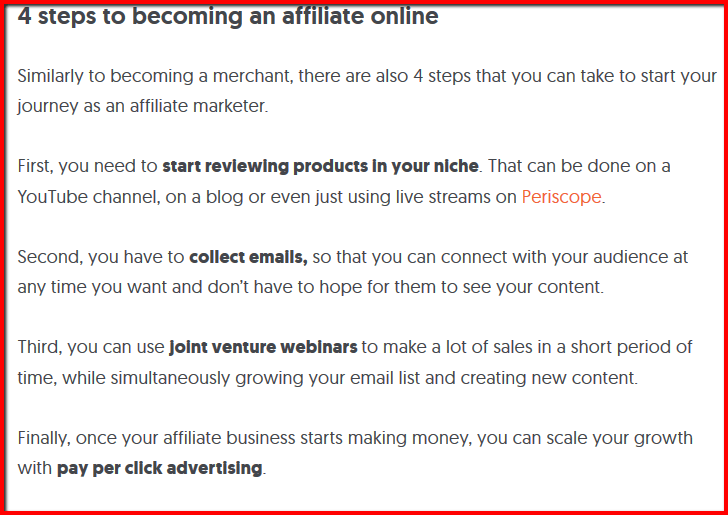 what is the top affiliate program