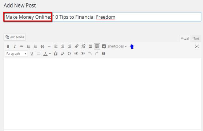 best keywords for your website