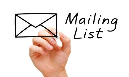 how to build my email list