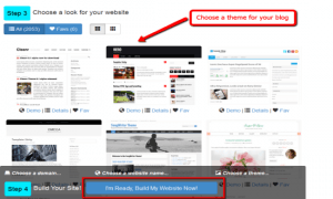 how to create a website for free step by step