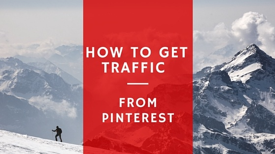 how to get traffic to my website from pinterest