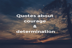 Quotes about courage and determination