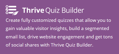 thrive_quiz_builder wordpress